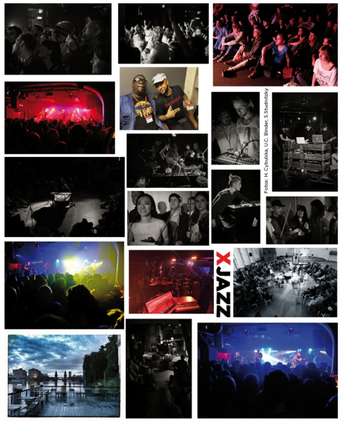Stimmungcollage XJAZZ 2014